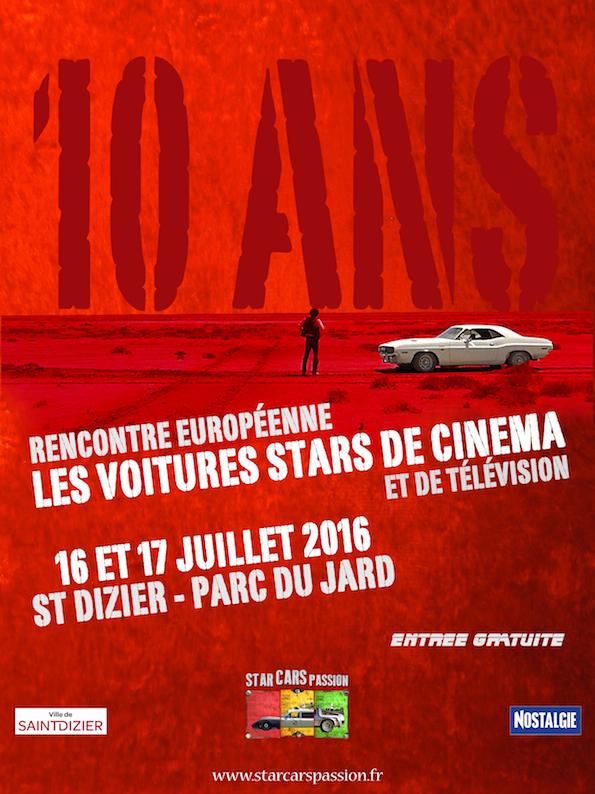 Rencontre europeenne des voitures stars de cinema 2016