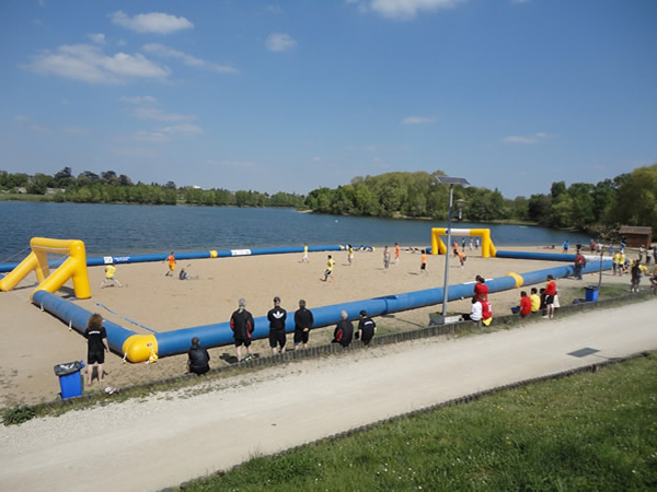Sports de plage for Horaire piscine saint dizier