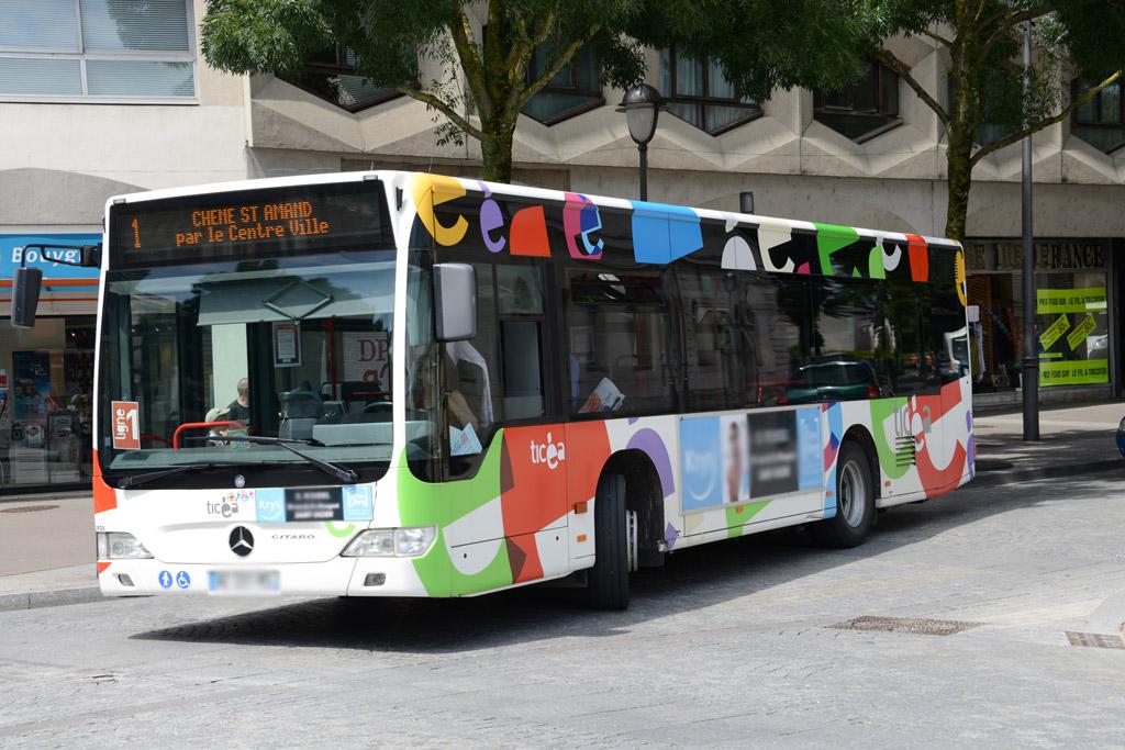 Visitez le site dédié au réseau de bus Ticéa