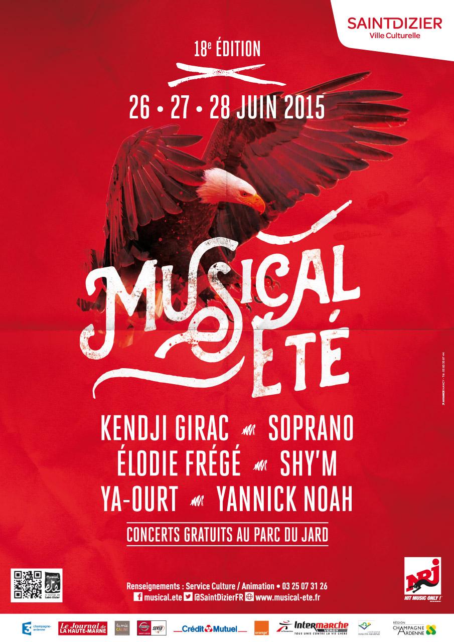 18e festival musical 39 t les 26 27 et 28 juin 2015 for Parc du jard saint dizier