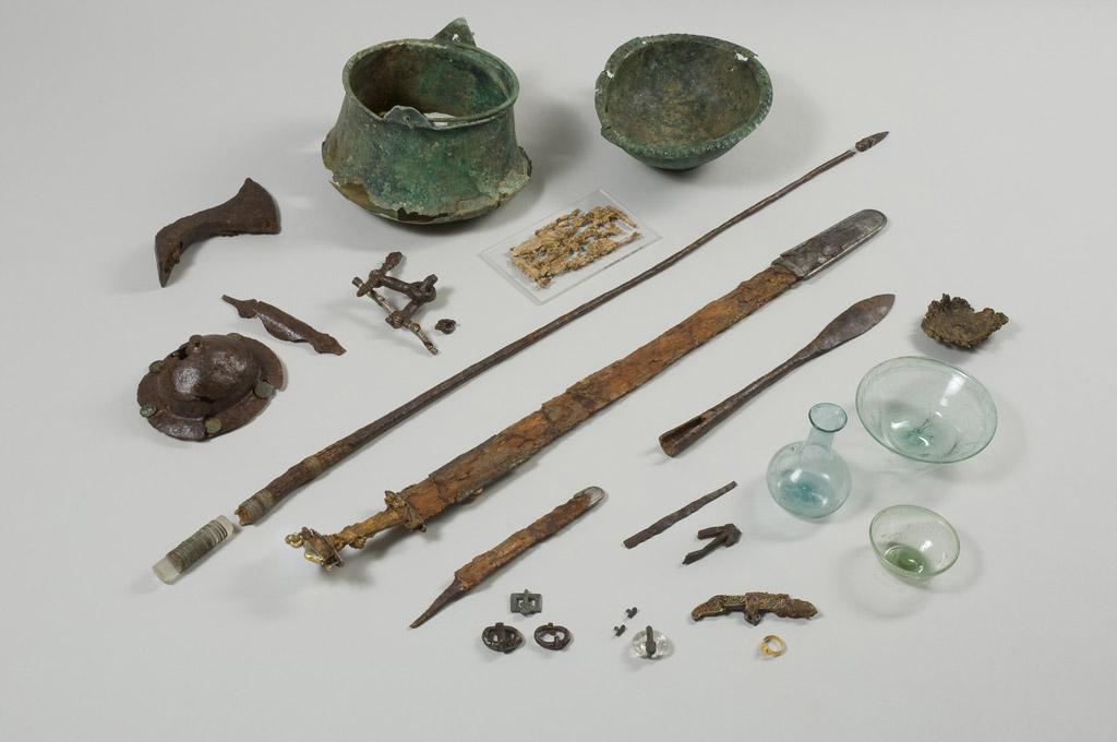 mérovingiens  le trésor de saintdizier  musée de saintdizier
