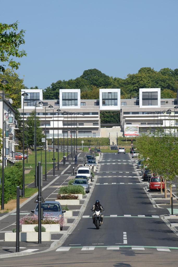 Quartier du vert bois 10 ans de r novation urbaine for Vert urbain maison de ville