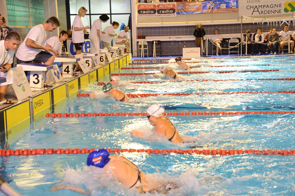 24e meeting international de natation de saint dizier les for Horaire piscine saint dizier