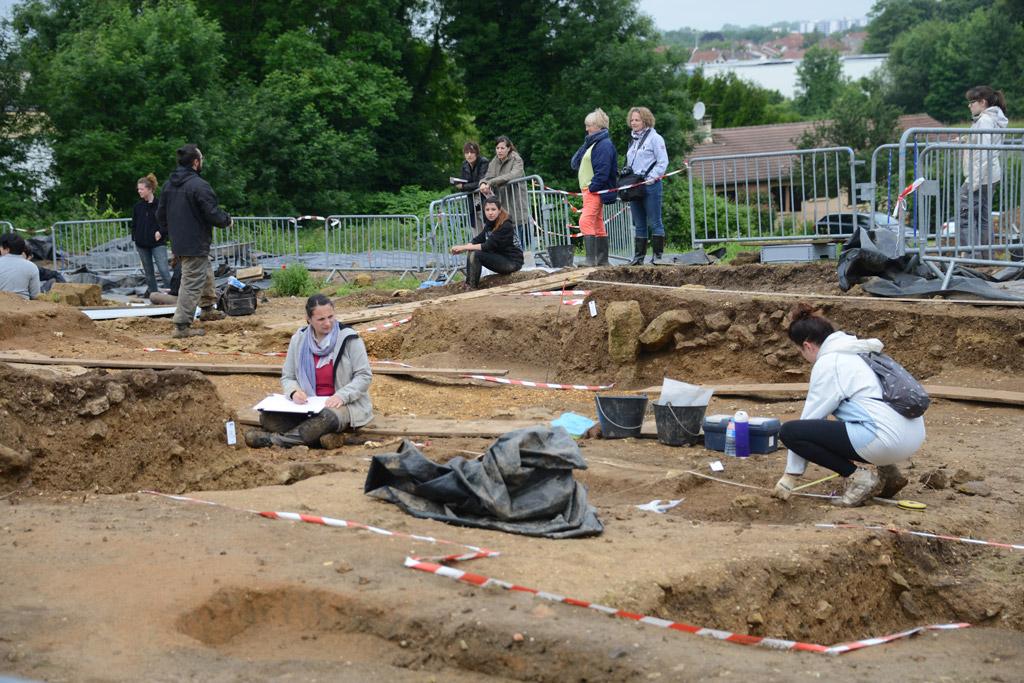 Portes ouvertes sur le chantier des fouilles arch ologiques les 18 et 29 juin 2016 - Porte ouverte base aerienne saint dizier 2017 ...